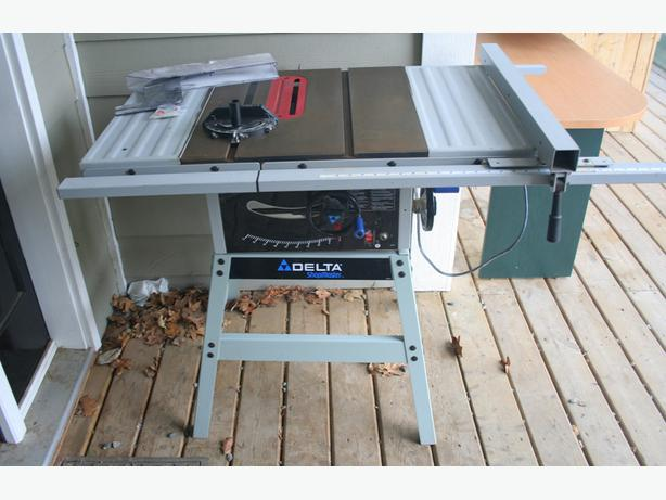 Delta Ts300 Shopmaster 10 Stationary Table Saw Crofton Cowichan