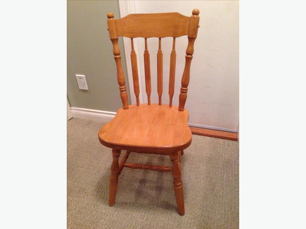 maple birch kitchen or dining room chairs central saanich victoria