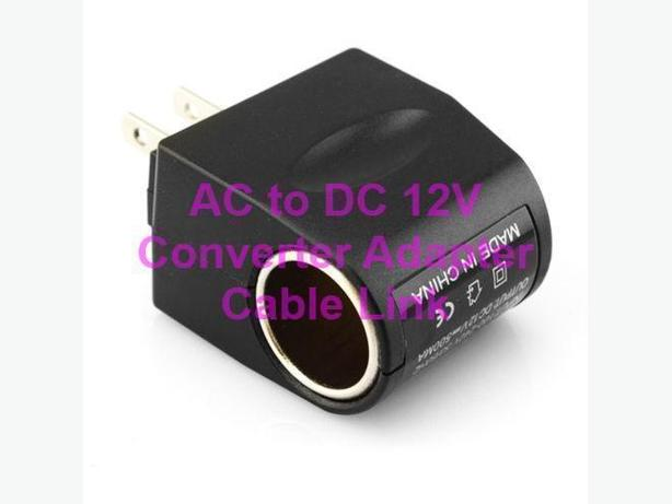 New AC TO 12V DC CAR Cigaretter Power Sockeet Converter Adapter