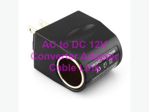 AC TO 12V DC CAR Cigaretter Power Sockeet Converter Adapter