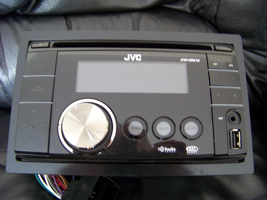 jvc kw xr610 double din head unit queens county pei. Black Bedroom Furniture Sets. Home Design Ideas