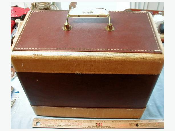 Vintage Portable Singer Sewing Machine 99K in Case & Vintage Portable Singer Sewing Machine 99K in Case Outside ... Aboutintivar.Com