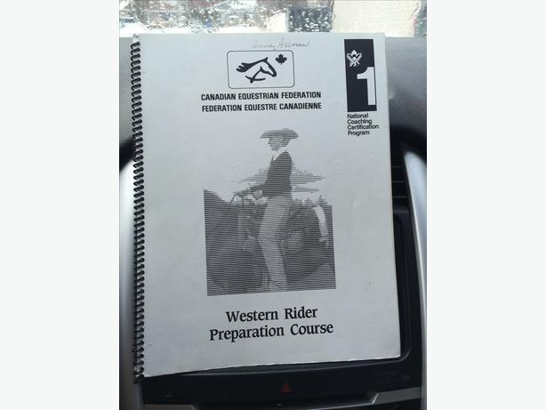 Western Rider preparation course