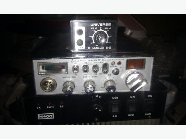 CB Radio made by Cobra and 400watt BiLinear Amplifier