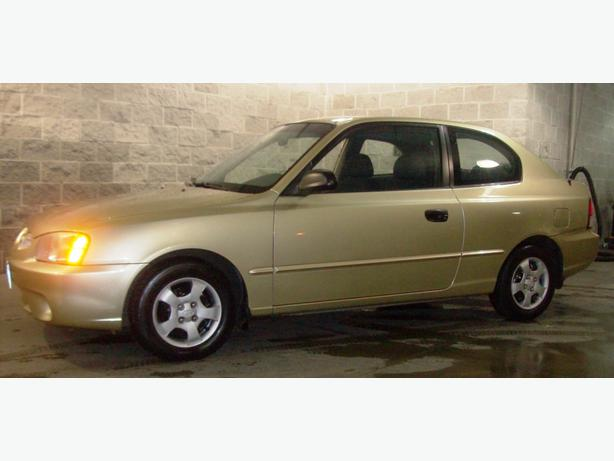 2001 Hyundai Accent Hatchback Coupe 2 Door Richmond