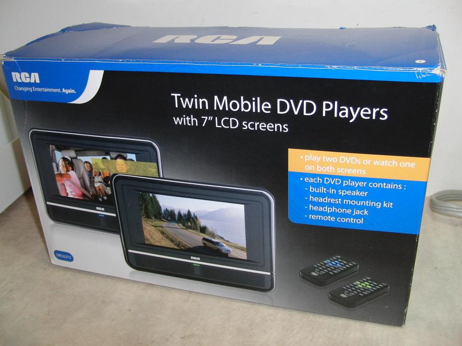 rca twin mobile dvd players central nanaimo nanaimo mobile. Black Bedroom Furniture Sets. Home Design Ideas
