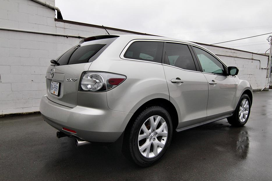 2007 mazda cx 7 turbo outside comox valley courtenay. Black Bedroom Furniture Sets. Home Design Ideas