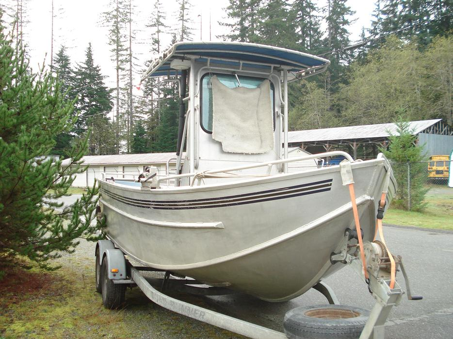 19 Welded Aluminum Boat Outside Comox Valley Courtenay