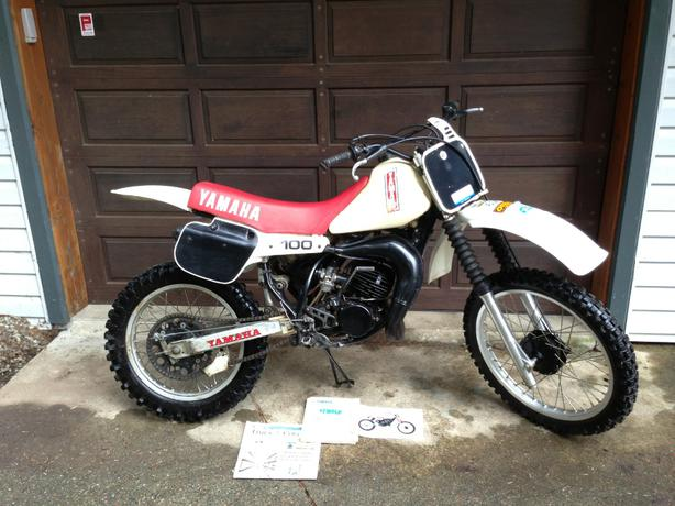 1982 yz 100 bing images for 1979 yamaha yz80 for sale