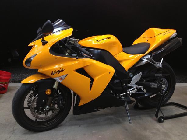 Kawasaki Ninja Hamilton