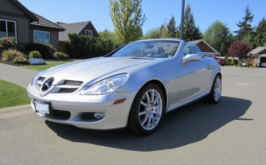 2007 mercedes benz slk350 outside nanaimo nanaimo for Mercedes benz nanaimo