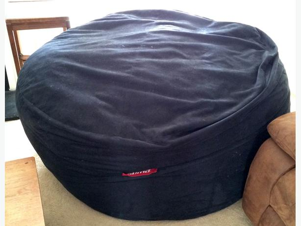 giant sumo sultan memory foam bean bag chair for sale north west calgary mobile. Black Bedroom Furniture Sets. Home Design Ideas