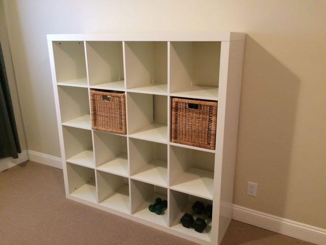 ikea kallax shelving unit white victoria city victoria. Black Bedroom Furniture Sets. Home Design Ideas