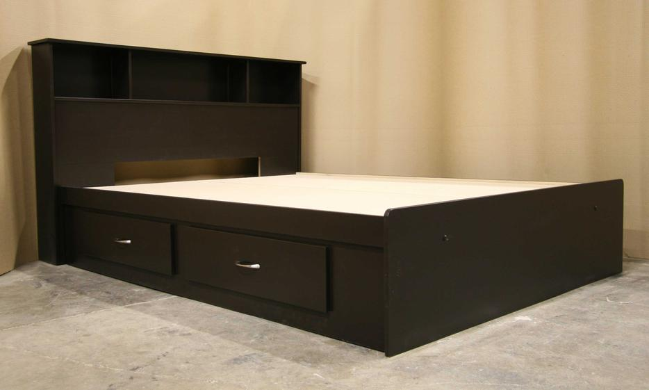 new espresso dark brown king size bedroom suite richmond vancouver