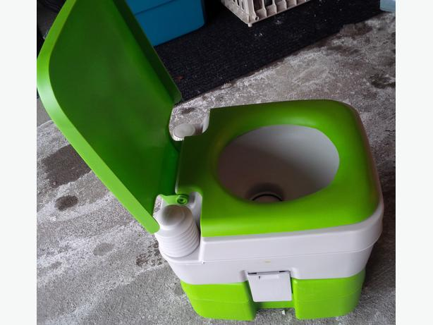 Dometic Portable Potty Camping Or Ice Fishing Toilet New