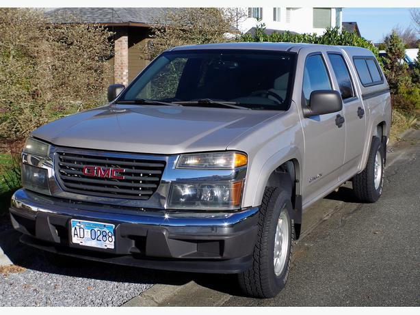 2005 GMC Canyon Crew Cab 4 by 4 Outside Comox Valley, Comox Valley