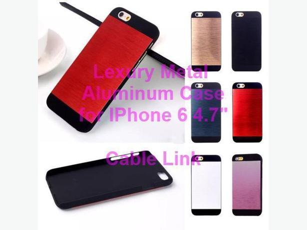 New Luxury Metal Aluminum Brushed Case For Apple iPhone 6 4.7""