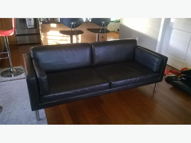 free ikea bonded leather sofa esquimalt view royal
