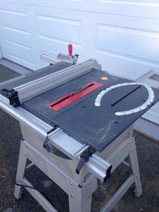 Table Saw For Sale Duncan Cowichan