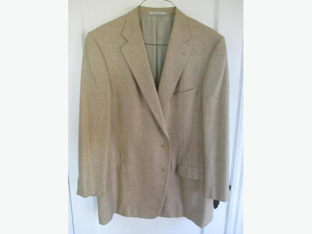 Men's Silk and Cashmere Suit Jacket/Blazer