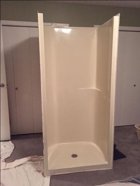 Fiberglass Shower Stall Saanich Victoria