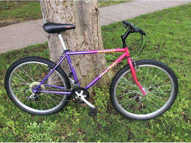 Image result for 1992 specialized rockhopper purple
