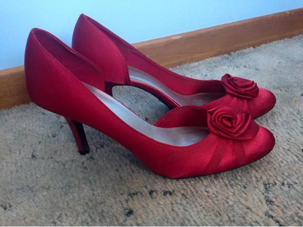 Rose high heels