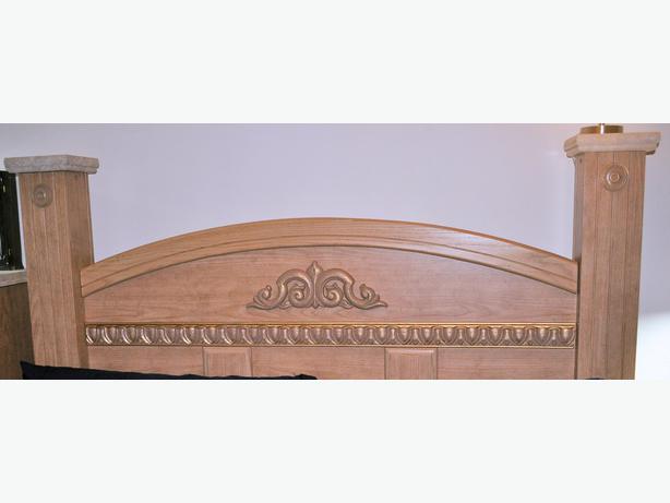 FOR TRADE Queen Bedroom Set For Storage Bed Victoria City Victoria
