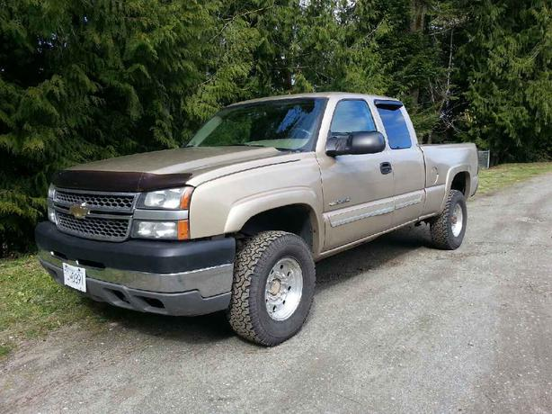 Chevrolet Silverado 2500hd Gatineau >> 05 SILVERADO 2500 HD Outside Nanaimo, Nanaimo - MOBILE