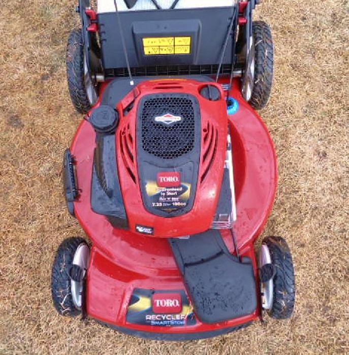 toro self propelled lawn mower manual
