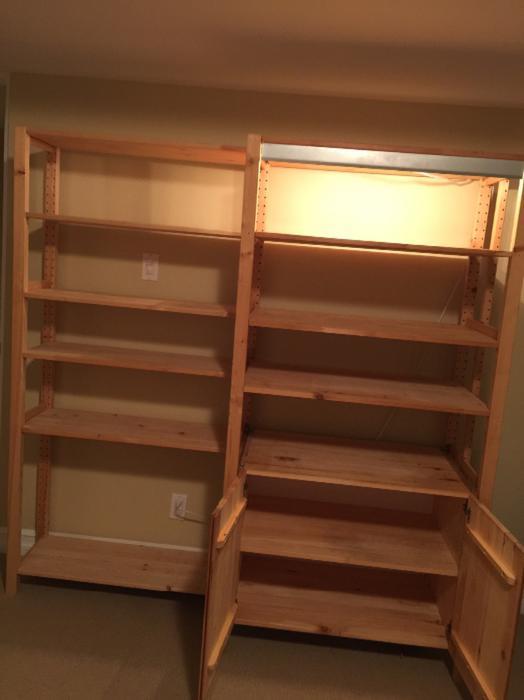 Ikea sten  IKEA STEN storage unit (pine wood) Nepean, Ottawa