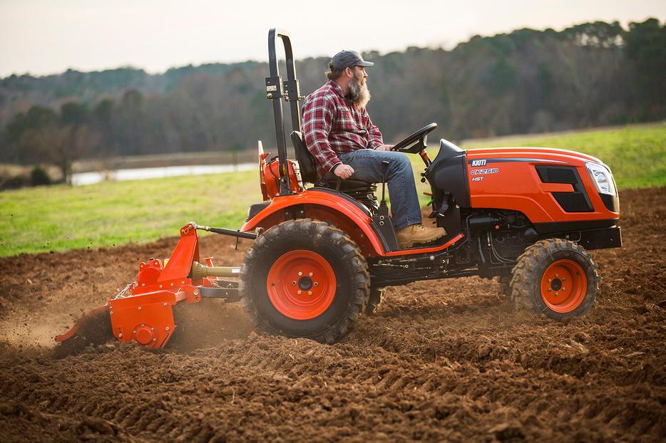 Kioti tractor Backhoe manual