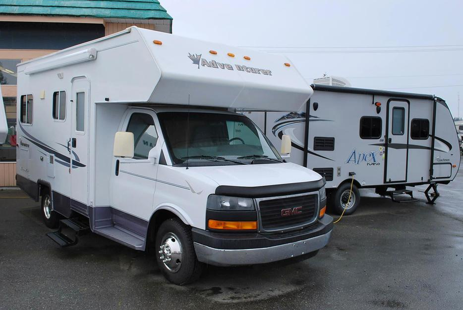 Used Class A Motorhomes For Sale On Vancouver Island