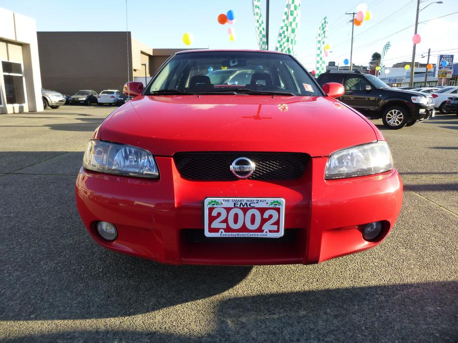 2002 nissan sentra se r outside nanaimo nanaimo. Black Bedroom Furniture Sets. Home Design Ideas