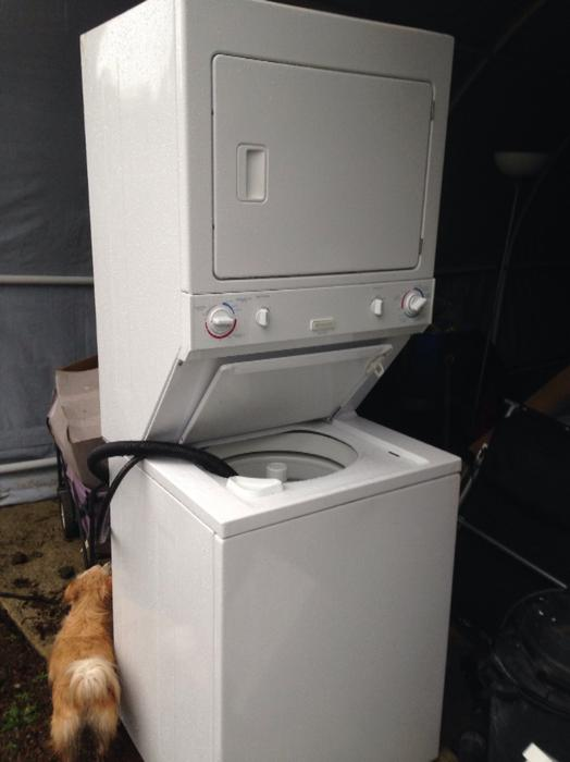 apartment size stacking washer dryer cedar parksville