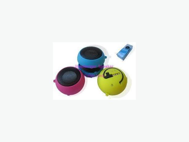 Mini Portable USB Hamburger Speaker (with internal battery)