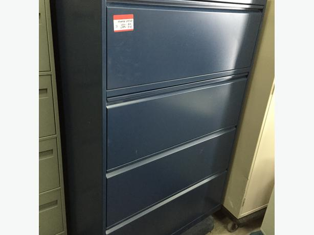 4 Drawer Lateral File Cabinets