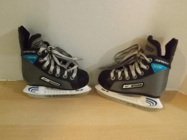 Hockey Skates Childrens Size 8 Toddler Nike Bauer Supreme ...