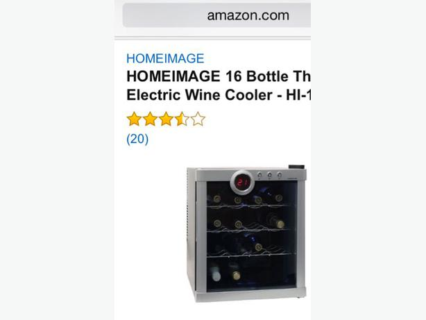 Wine cooler brand new 60 obo esquimalt view royal Wine cooler brands