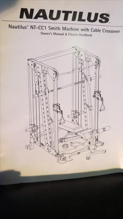 nautilus smith machine with cable cross