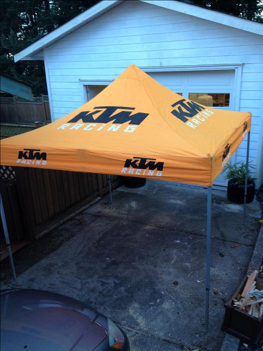 KTM Easy Up Canopy West Shore LangfordColwoodMetchosinHighlands Victoria & KTM Easy Up Canopy West Shore: LangfordColwoodMetchosin ...
