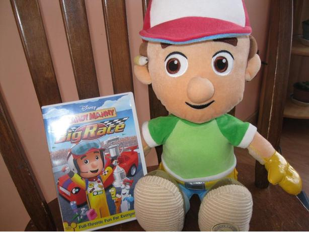 HANDY MANNY Doll & DVD