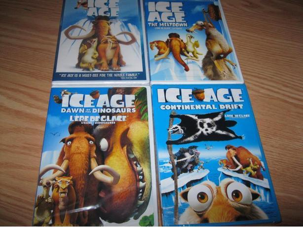 BRAND NEW & UNOPENED - 4 set of ICE AGE (All for ONLY $20)