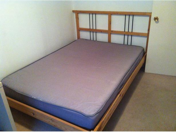 Ikea sultan spring mattress full size vancouver city surrey - Structure futon ikea ...