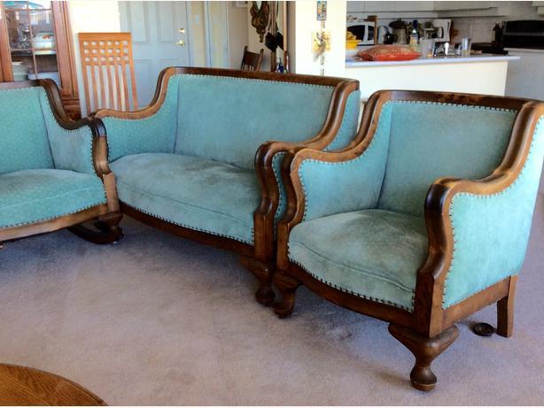 Antique sofa armchair and rocker central nanaimo