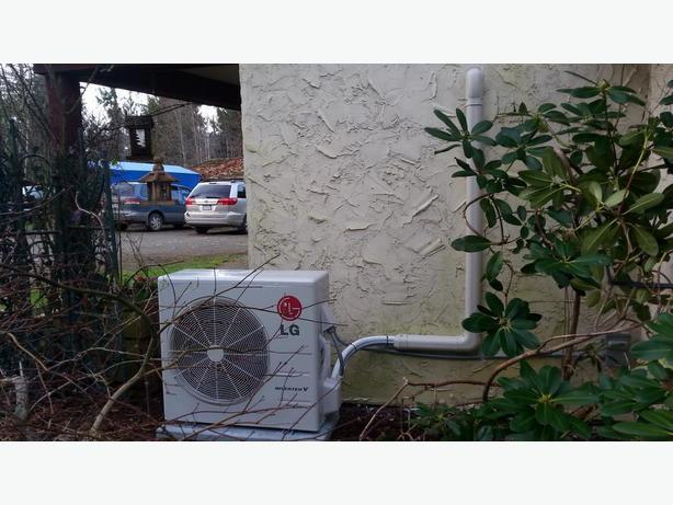 800$ ductless heat pump rebate renewed for another year!
