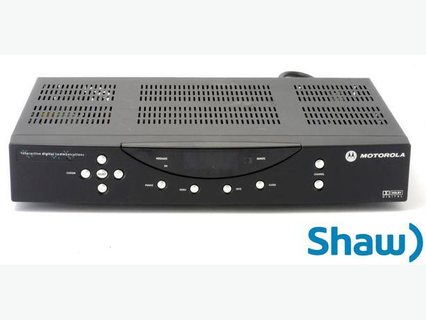 Shaw Digital Cable Box Manual