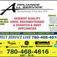 > > USED APPLIANCE SALE! >> 9267 - 50 Street Edmonton