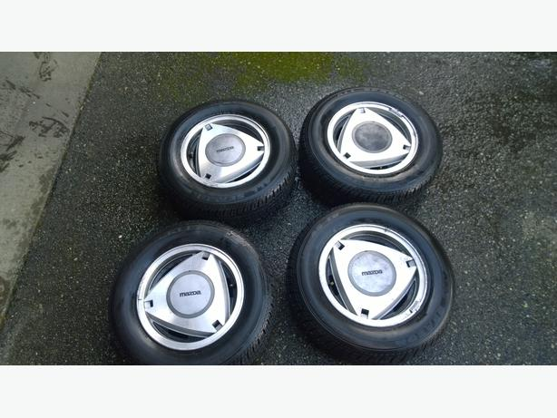 Rare Collectable Mazda Rotary Wheels Saanich, Victoria
