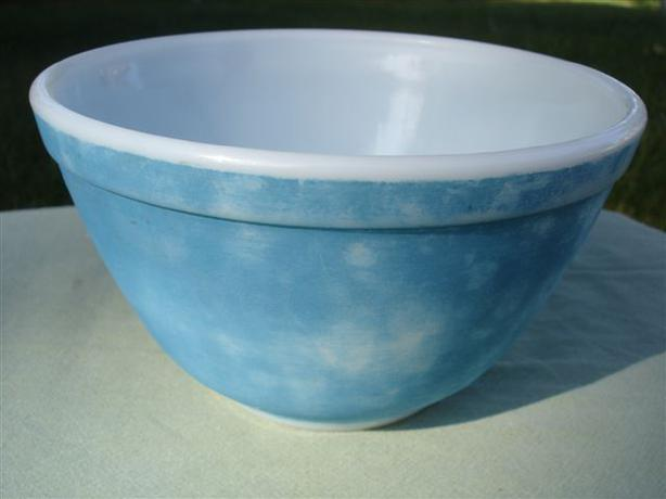 Classic VINTAGE PYREX PRIMARY COLORS Blue Mixing Bowl #401